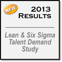 2013 Ninth Annual Lean and Six Sigma Talent Demand Study
